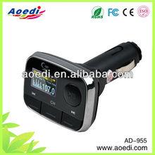NEW LCD Car MP3/Car MP4 Player/car FM Transmitter with remote control SD/MMC USB flash .