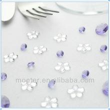 Wholesale Clear Flower Shape Latest Wedding Decoration