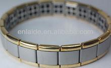 SALE! Nano Energy 2 Tone Magnetic Titanium Germanium Bracelet jewelry Pain Relief