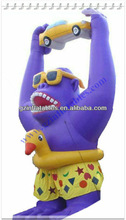 2013 (QiLing) Famous inflatable orangutan cartoon model