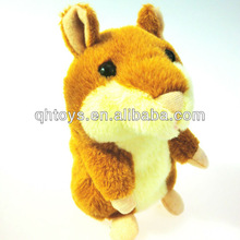 chatimal hamster plush toys,talking animal plush
