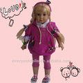 moda 18 pollici quasi vendita vera bambola