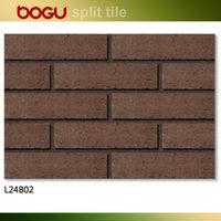 60x240mm clinker brick effect brick roof tiles