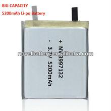 3.7V 5900mAh 3997132 rechargeable Li-polymer battery
