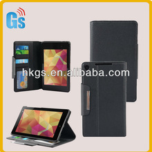 Nexus 7 2 pu leather bag luxury wallet case stand for google Nexus 7 II tablet handbags