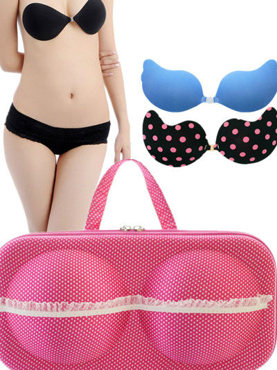 lady's bra and panty case,plastic travel bra bag,underwear bag