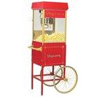 8 oz. Fun Pop Popcorn Machine with Cart - Gold Medal
