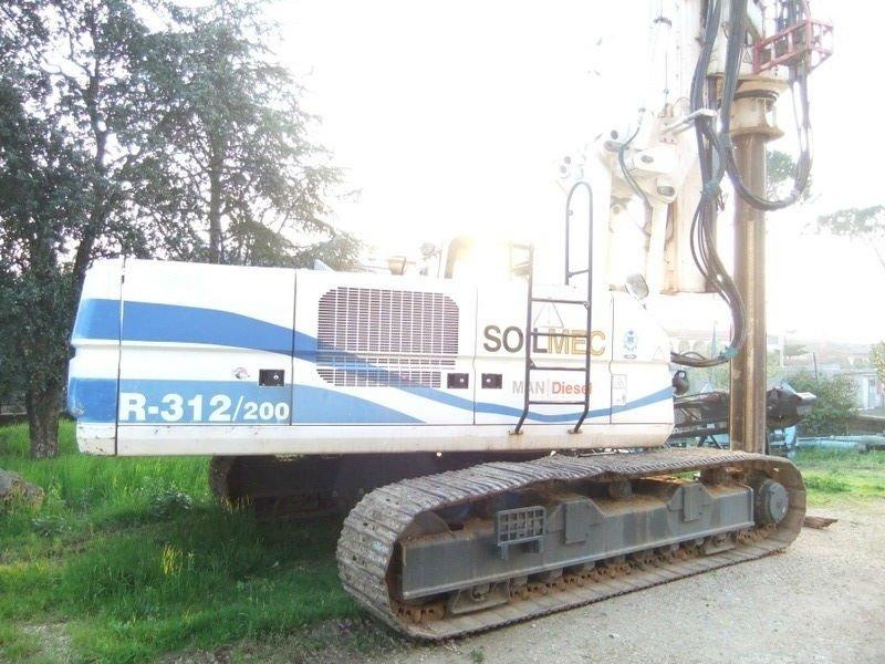 Drilling rig SOILMEC R 312 / 200
