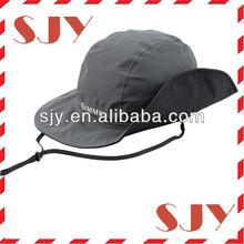 canvas fabric army children beach cap,pocket fisherman folding hats