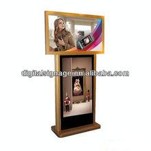 3G/WiFi Dual-screen LCD advertising multimedia Digital Signage Screen