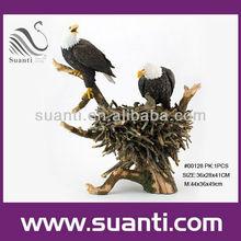 Polyresin art birdhouses