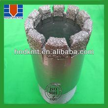 vacuum brazed diamond core drill bit,core barrel bits