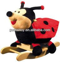 lovely ladybug stuffed plush singing/musical sound animal rocking~great gift for kids baby