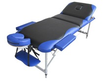 Portable Massage Table - Aluminium 3 Section
