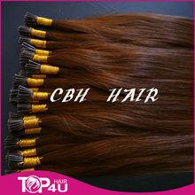 dark color i-tip prebonded hair