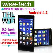 THL W11 Monkey king 5'' MTK6589T Quad Core 1.5GHz FHD 1920*1080 2gb ram mobile phones 32gb internal memory 13.0 MP