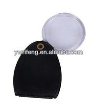 China high quality Optical Instruments magnifying glass Magnifiers pvc magnifer