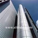 ACP CURTAIN WALL PANELS