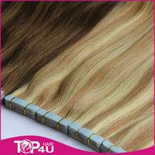 tape in hair pu hair extension