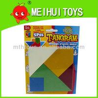 easy grade 5pcs creative toys puzzle tangram