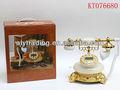 Hot venda decoração estilo antigo telefones requintado alta- final telefone antigo