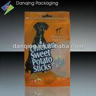 Plastic packaging pouch,zipper lock pouch,zipper bag,dog treat packaging
