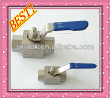 ss316 high pressure lever operated ball valve