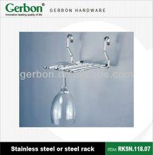 Hanging Steel Wine Glass Rack