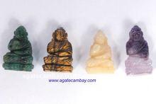 Wholesale Gemstone Buddha Carving & God- Goddess Carving