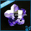 forma de flor suíça gemstone pedras de zircônia