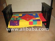 NE11 Pamco All Black Junior Bed