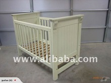 NF15 Pamco Balmoral Distressed Cot Bed