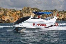 Glass bottom boat Looker 350