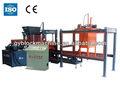 La construcción de maquinaria de mejor venta de productos de vidrio qty6-18 bloque que hace las máquinas