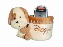 produttore di giocattoli peluche animale di supporto per auto