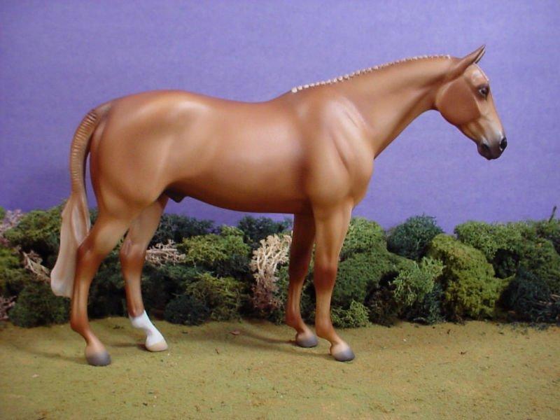 Porcelana cerâmica cavalo escultura edição limitada castanha hunter