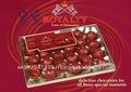 clásico de la realeza mejor chocolates oscuros