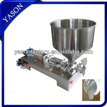 Stainless Steel Semi-Automatic Viscosity Liquid Filling Machine