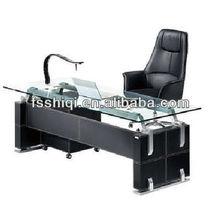 glass office desktop tables(F-06)