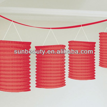 Party Red Paper Lantern Garland Wholesale