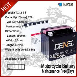 high capacity 12v12ah lead acid battery/storage accumulator