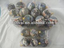 2014 Cheapest China OEM factory printing christmas ball,plastic christmas ball warmer hand