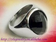 Best price stainless steel stone men ring