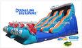 engraçado escorregas insufláveis jumper corrediça inflável para crianças e adultos