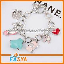 2014 cheapest Watch Bracelet,Bracelet set,jewel bracelet bangle pink crystal ball woven shamballa bracelet