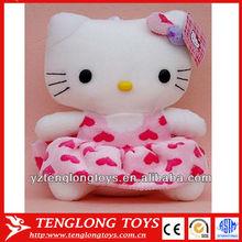 fashion popular lovely plush hello kitty soft toys