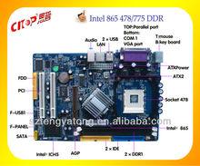 Factory OEM 865 DDR3 socket 478 desktop motherboard