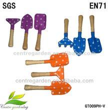 Mini garden hardware tool set for child