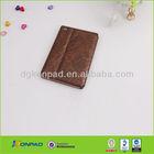 Wood book cover case for ipad mini,stand case for ipad mini
