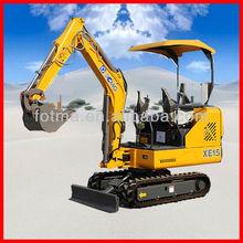 Chinese XCMG excavator video